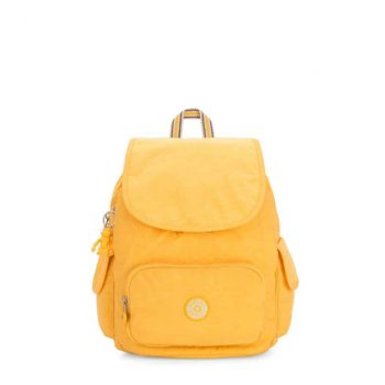 Kipling CITY PACK S Vivid Yellow Forside