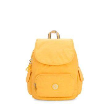 Kipling CITY PACK S Vivid Yellow Forside