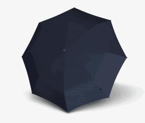 Knirps E051 navy blå - open