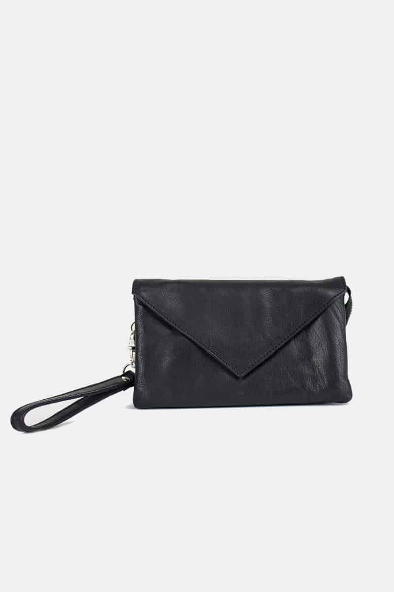 Re-Designed by DIXIE - Claire veske clutch 03805 black sort 3