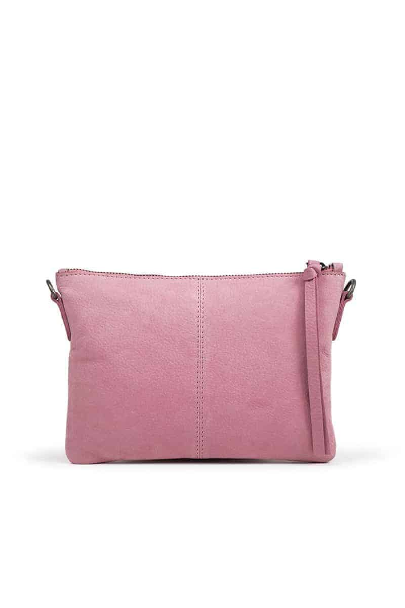 Re-Designed by DIXIE - Furi veske clutch 03994 rosa forside