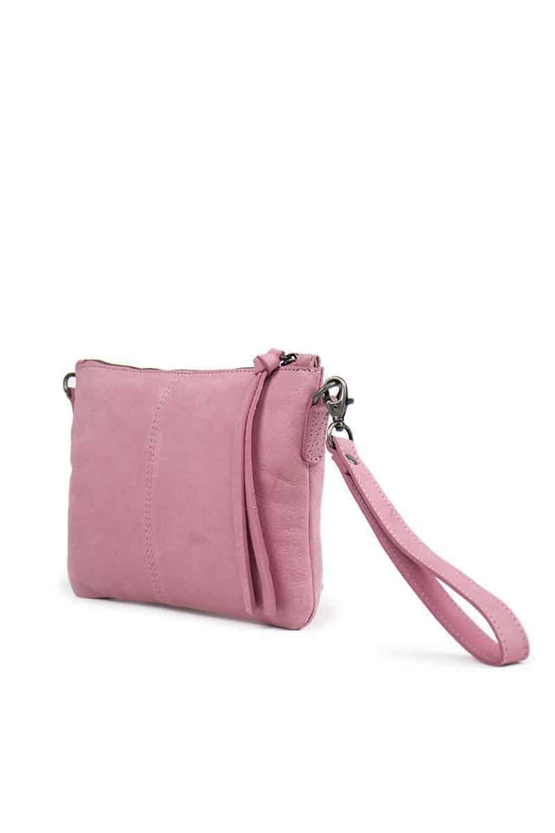 Re-Designed by DIXIE - Furi veske clutch 03994 rosa side
