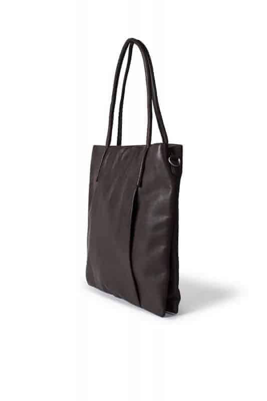 Re-Designed by DIXIE Mola Bag Dark Brown Side