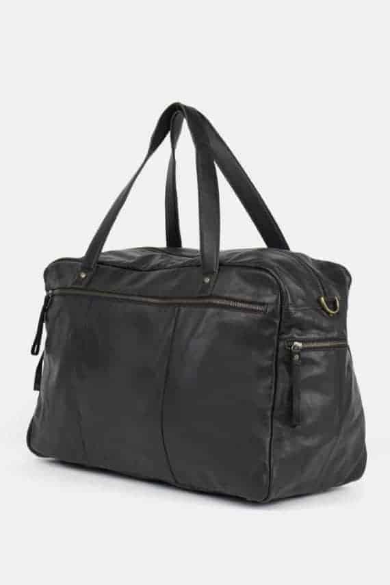 Re-Designed by DIXIE - Signe weekendbag 00145 black sort 2