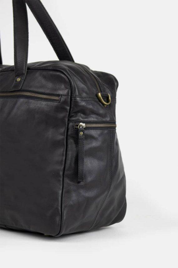 Re-Designed by DIXIE - Signe weekendbag 00145 black sort 3