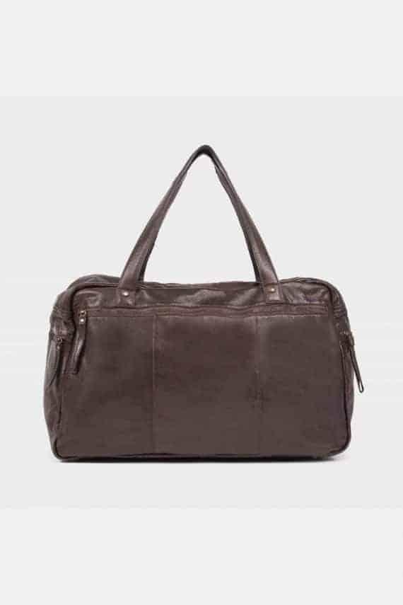 Re-Designed by DIXIE - Signe weekendbag 00145 dark brown mørk brun 1