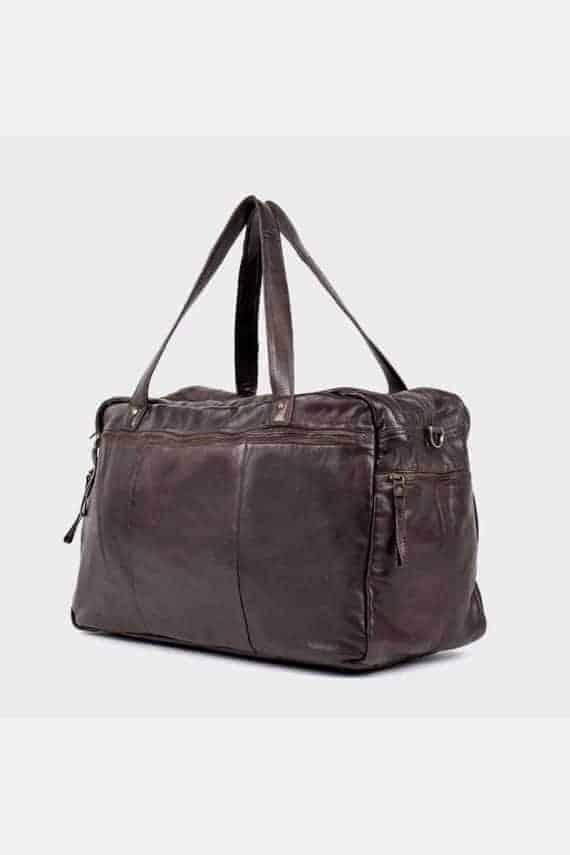 Re-Designed by DIXIE - Signe weekendbag 00145 dark brown mørk brun 2