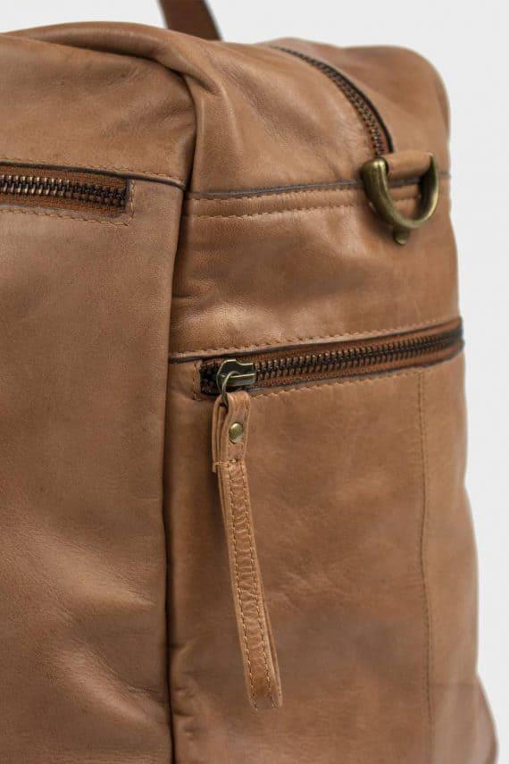 Re-Designed by DIXIE - Signe weekendbag 00145 walnut 2