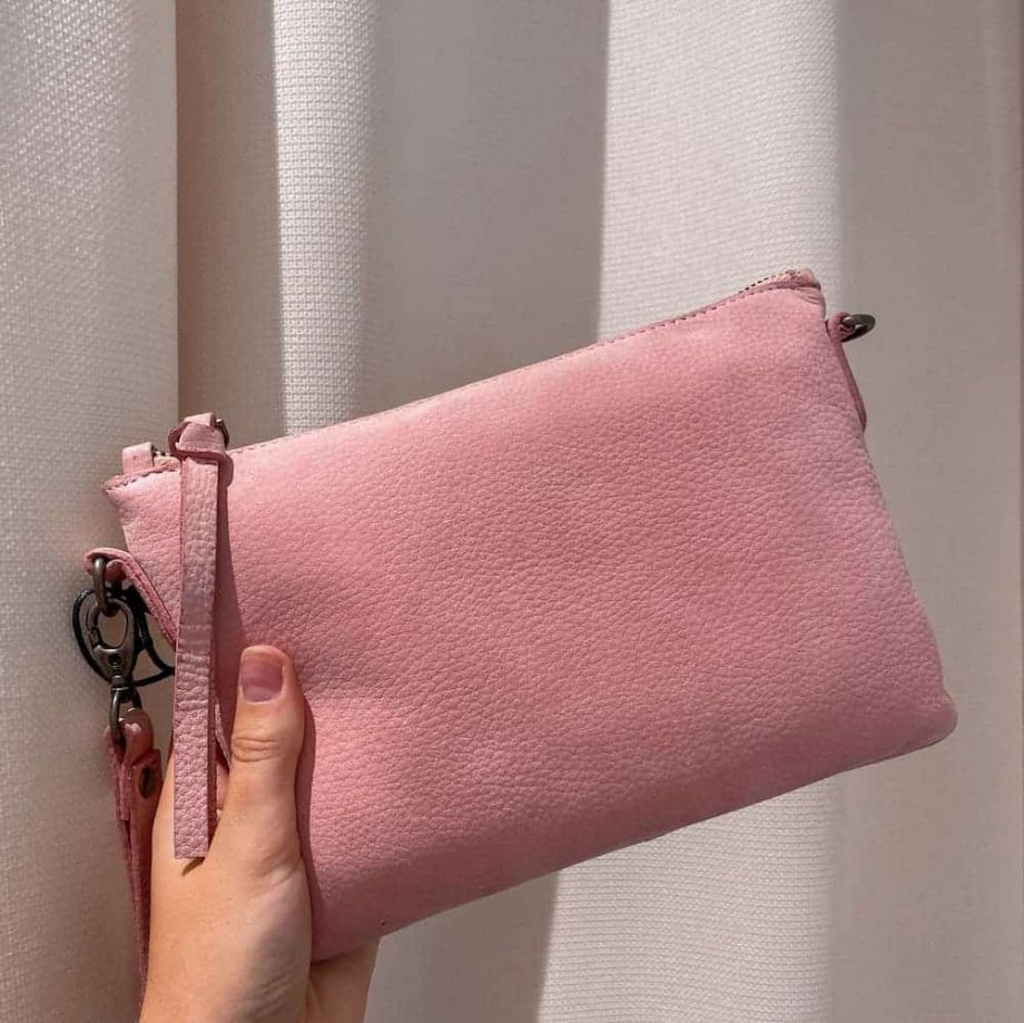 ReDesigned by Dixie - Furi bag - soft pink-web