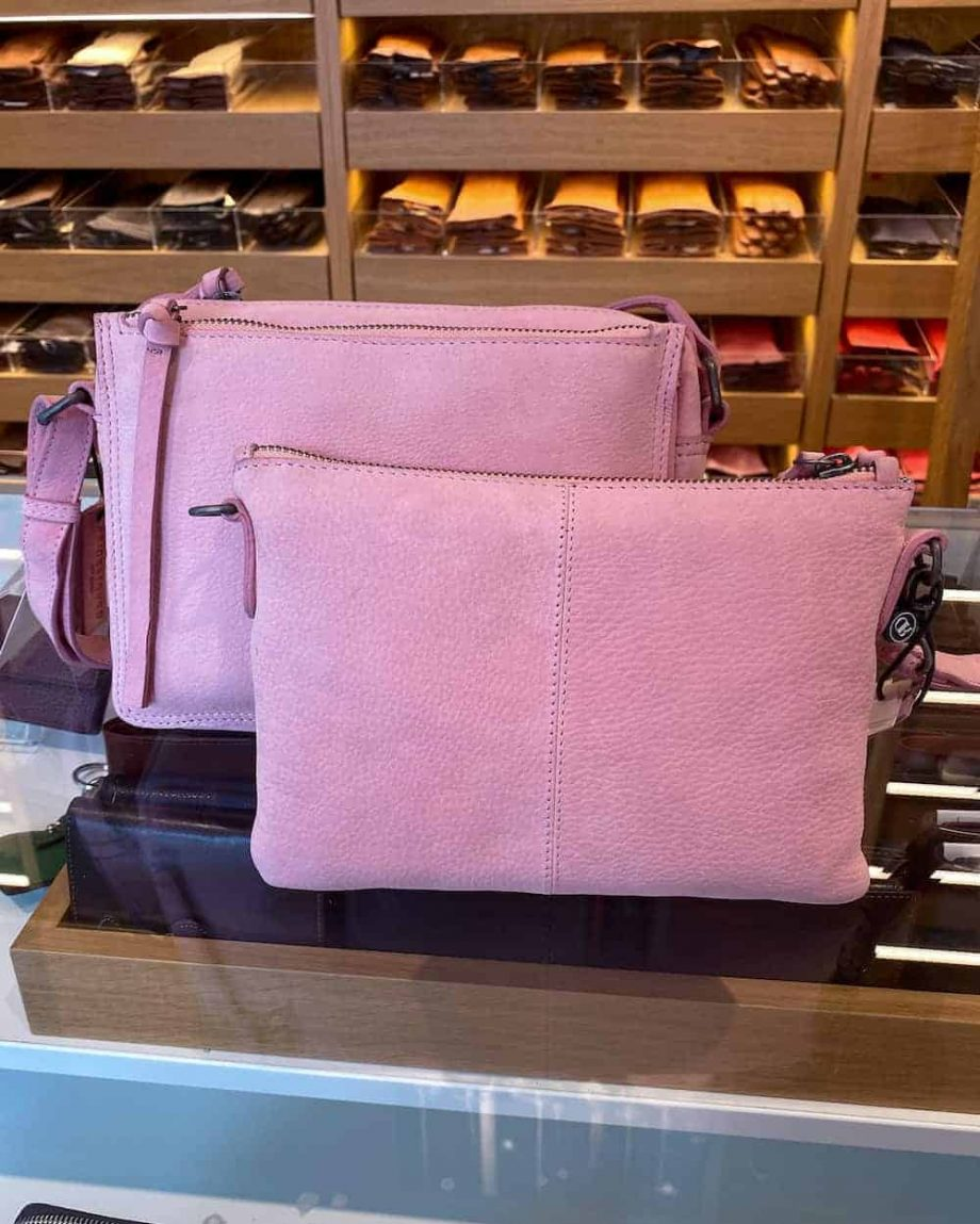 Redesigned by Dixie - Famke and Furi bag - soft pink-web