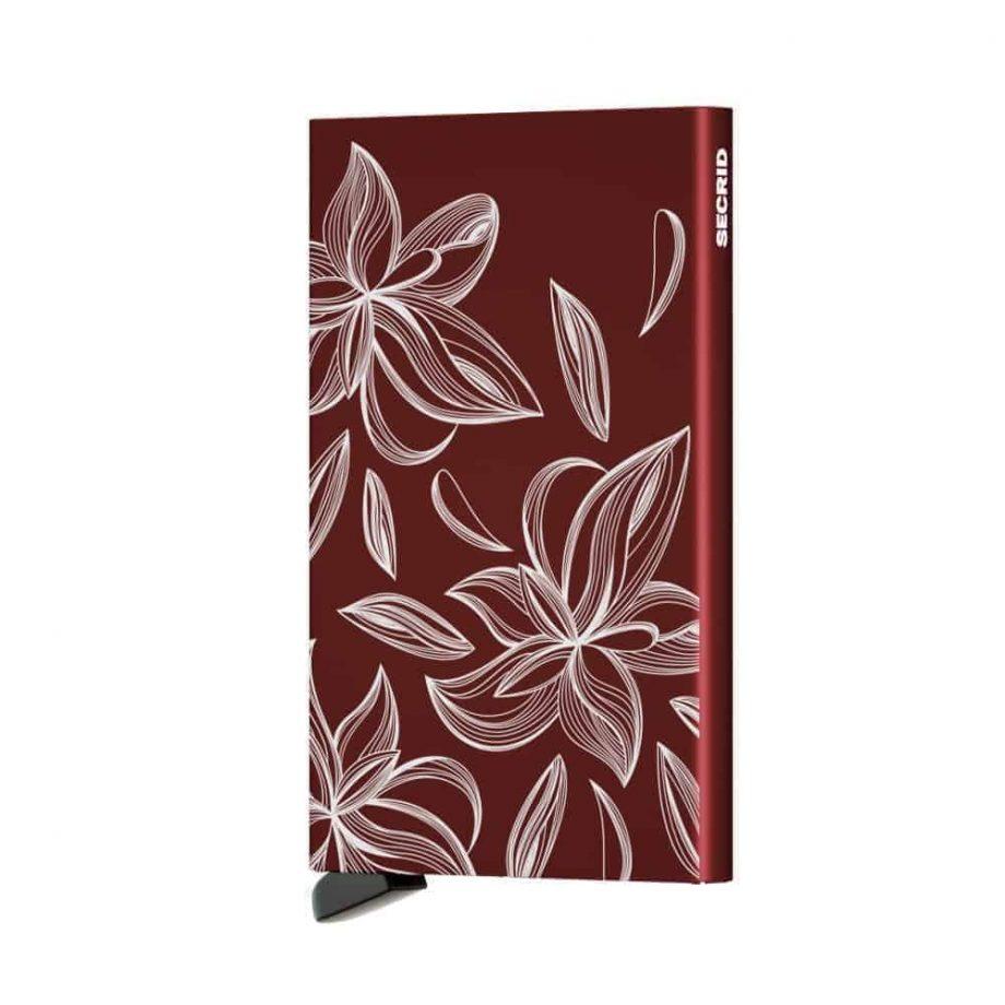 Secrid Cardprotector Magnolia bordeaux forside