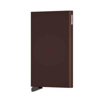 Secrid Cardprotector brun forside
