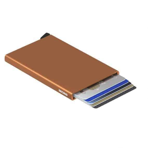 Secrid Cardprotector rust open