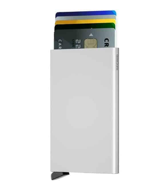 Secrid Cardprotector silver forside med kort