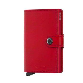 Secrid Miniwallet - red - forside
