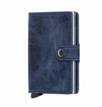 Secrid Miniwallet - vintage blue - forside