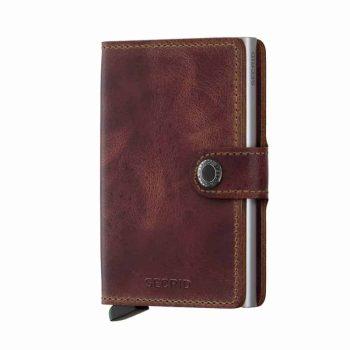 Secrid Miniwallet - vintage brown - forside