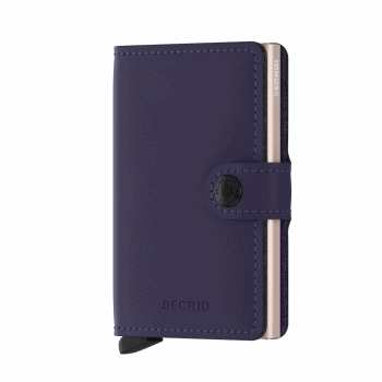 Secrid Miniwallet Matte Purple Rose Forside