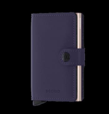 Secrid Miniwallet Matte Purple Rose Forside