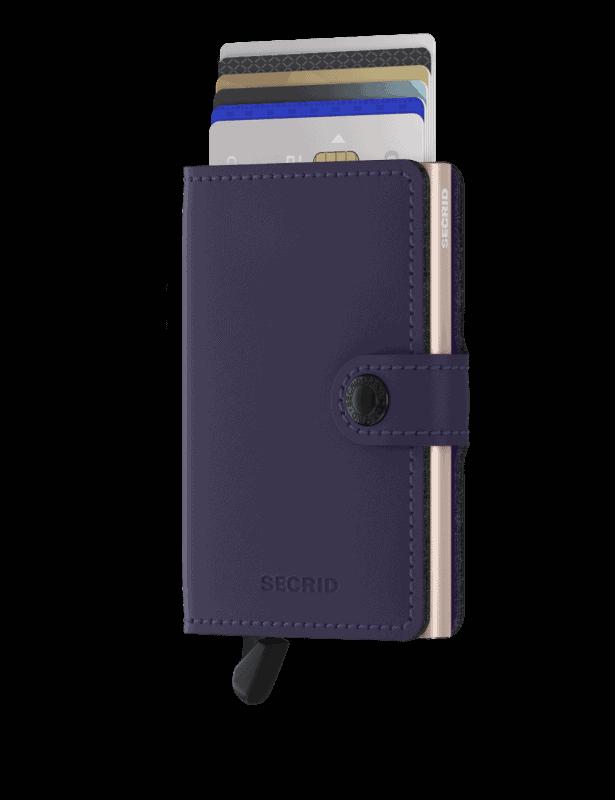 Secrid Miniwallet Matte Purple Rose Forside 2