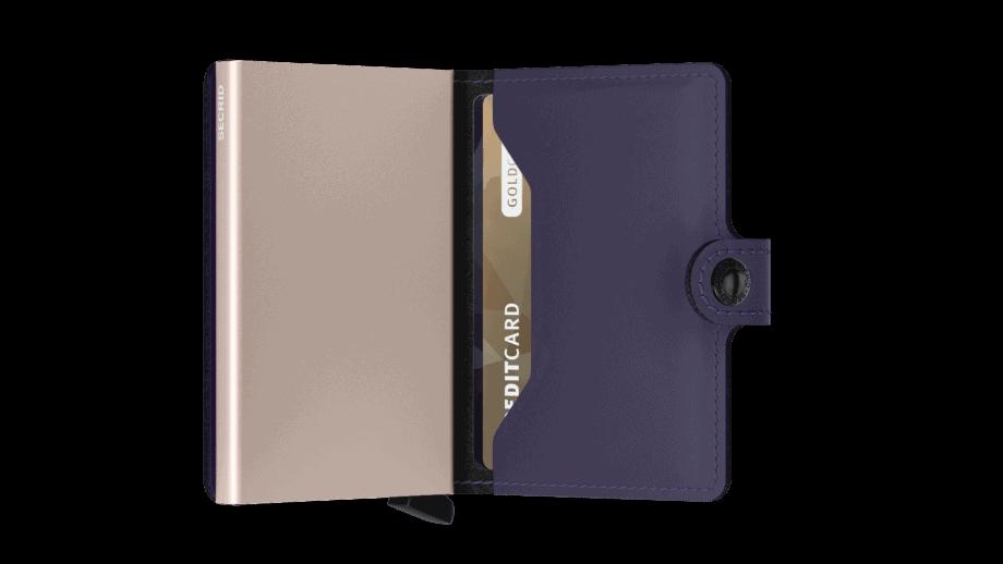 Secrid Miniwallet Matte Purple Rose Innside 2