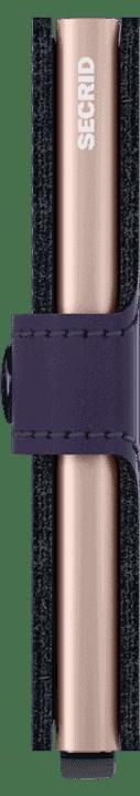 Secrid Miniwallet Matte Purple Rose Side