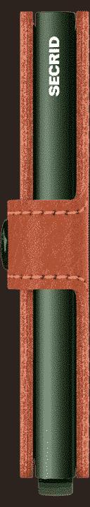 Secrid Miniwallet Veg Caramello Green Side