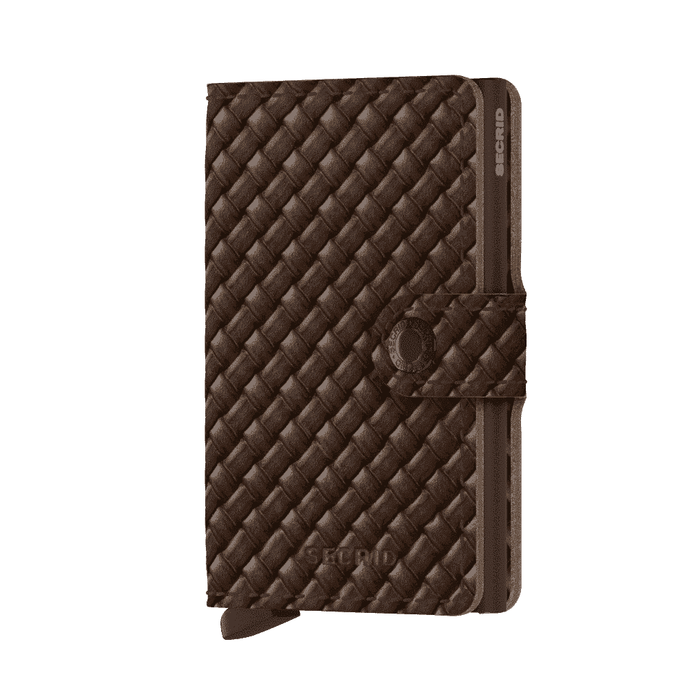 Secrid Miniwallet - basket brown forside
