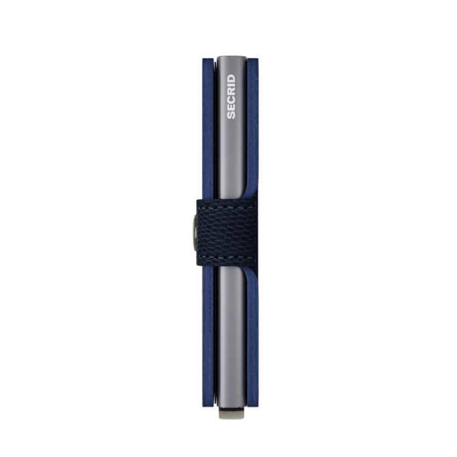 Secrid Miniwallet - blue titanium side