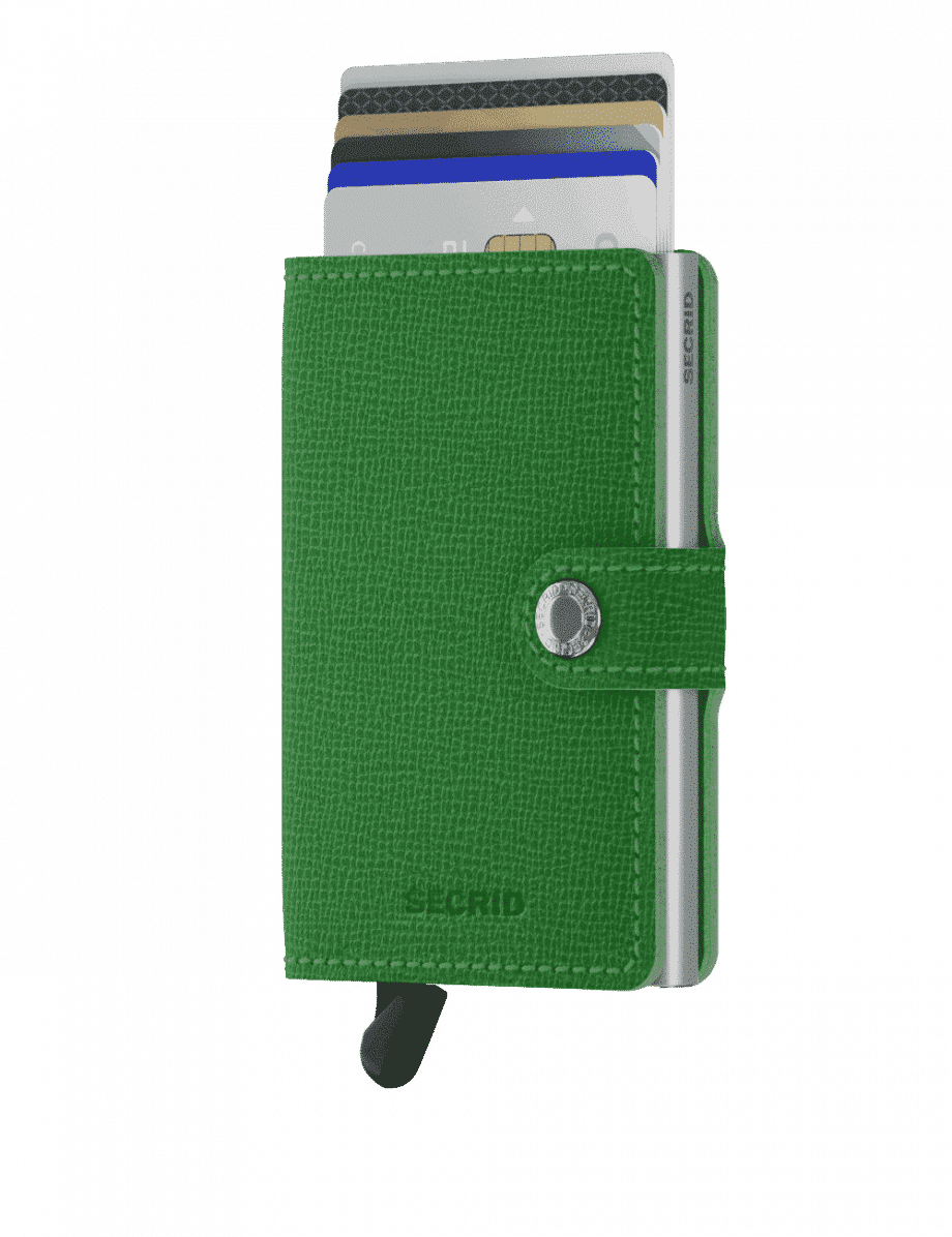 Secrid Miniwallet - crisple apple forside med kort