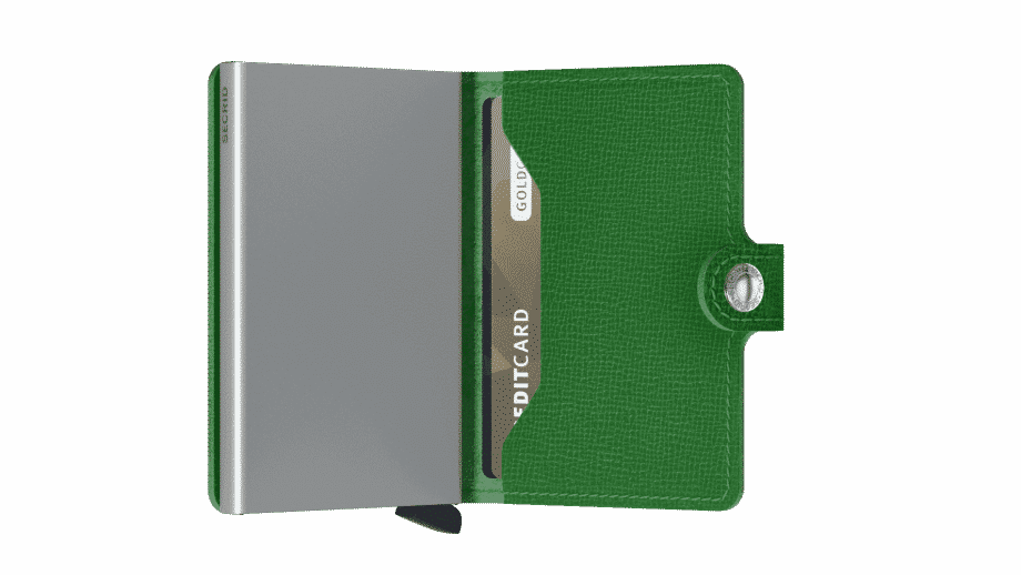 Secrid Miniwallet - crisple apple open 2