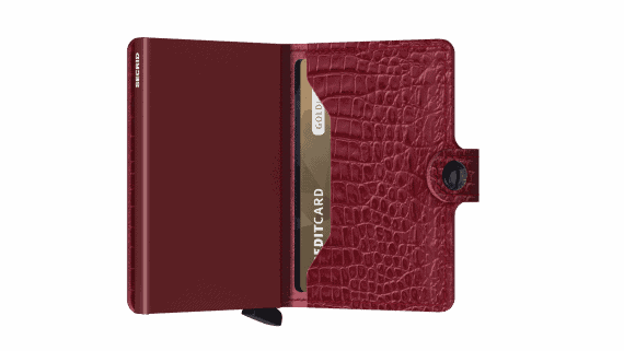 Secrid Miniwallet - nile ruby open