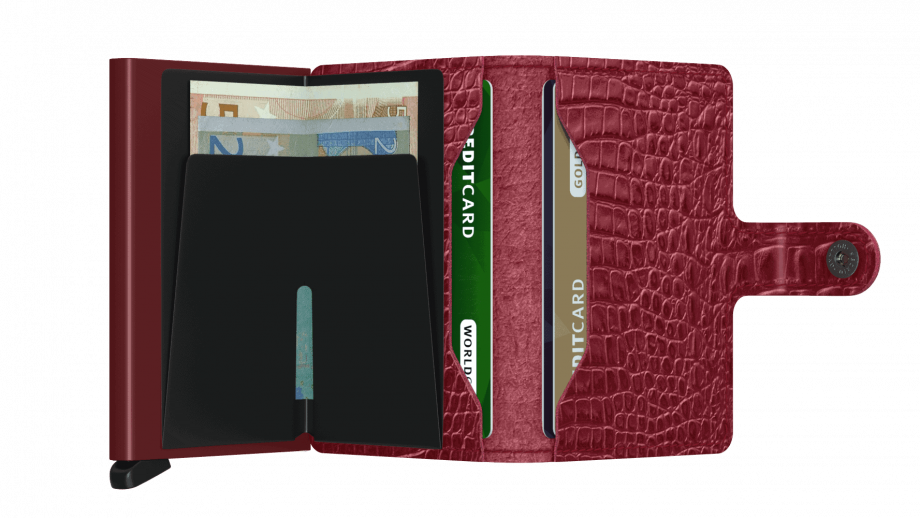 Secrid Miniwallet - nile ruby open2