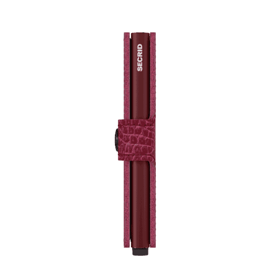 Secrid Miniwallet - nile ruby side