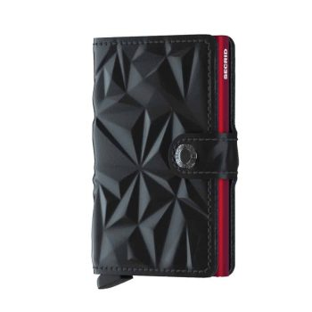Secrid Miniwallet - prism black red forside