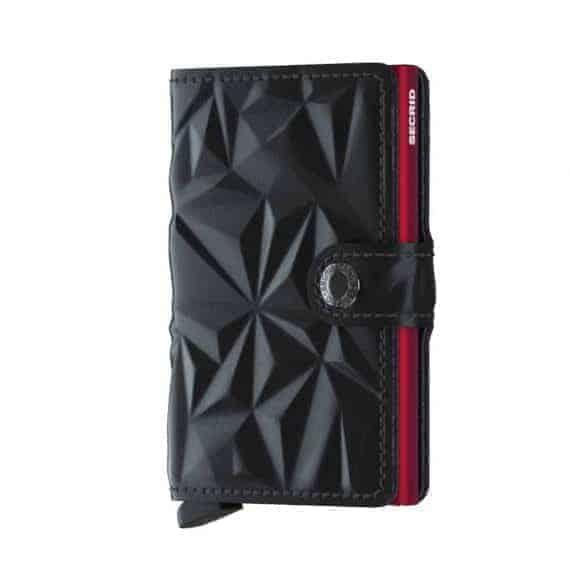 Secrid Miniwallet - prism black red forside