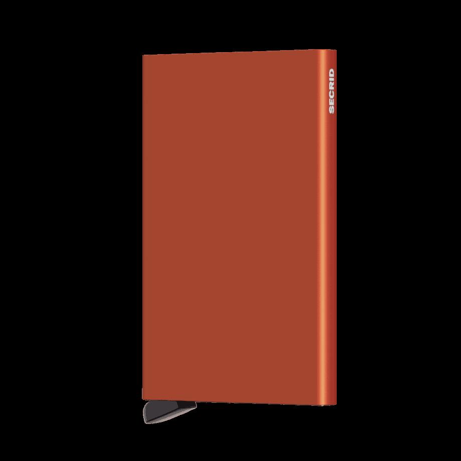 Secrid Cardprotector Orange Forside