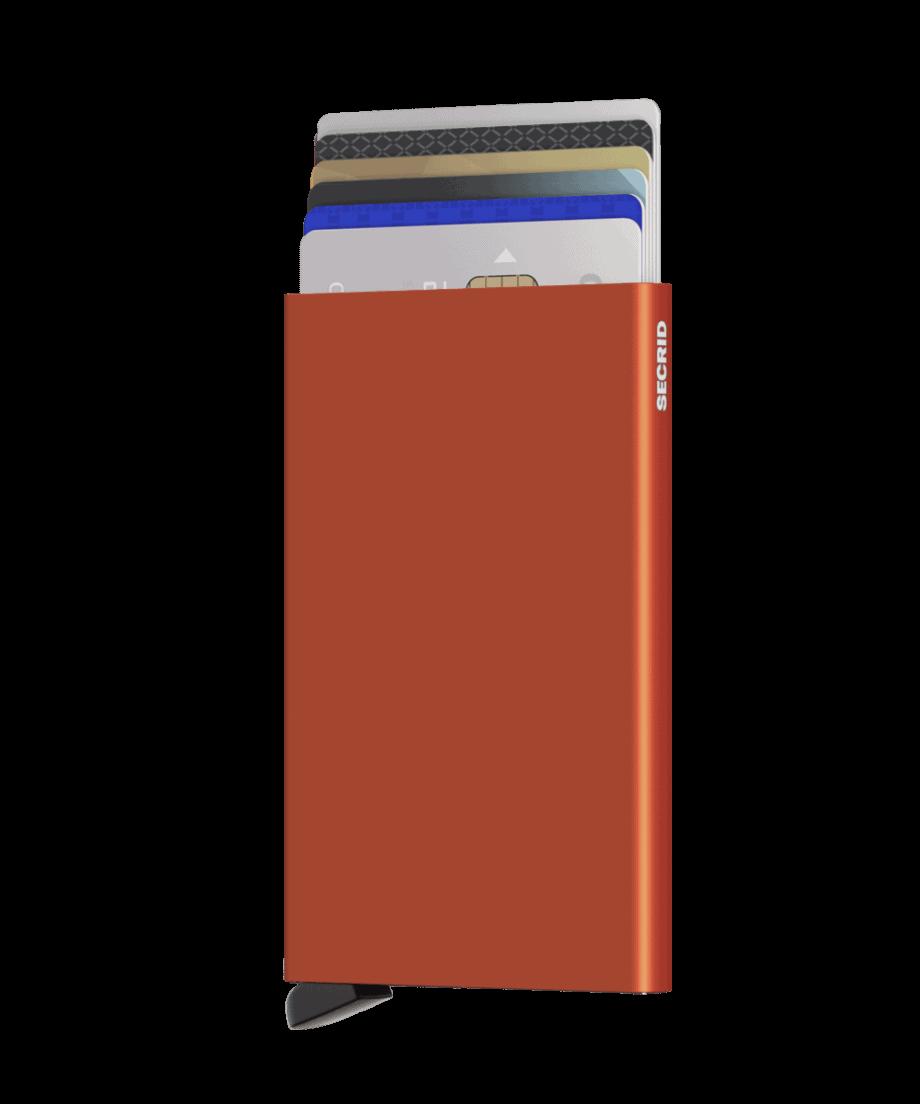 Secrid Cardprotector Orange Forside 2