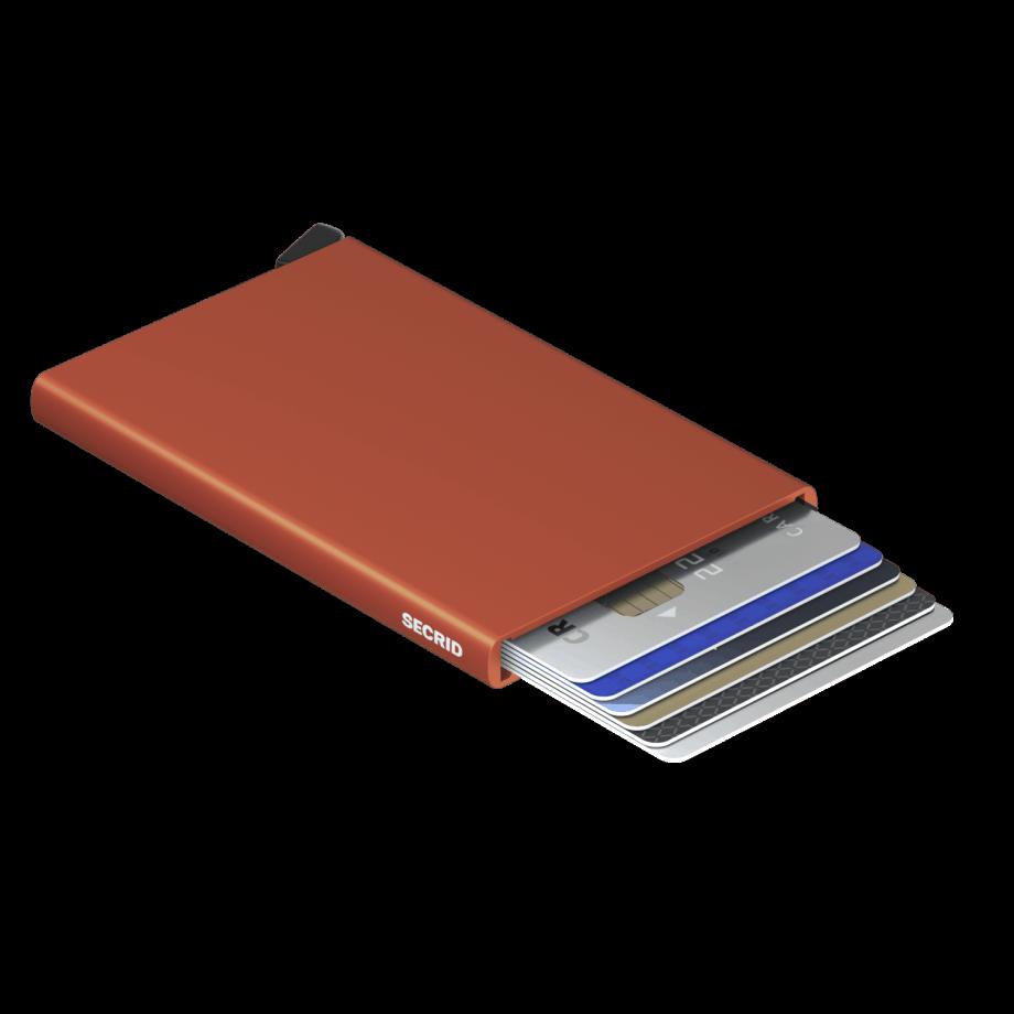 Secrid Cardprotector Orange Liggende