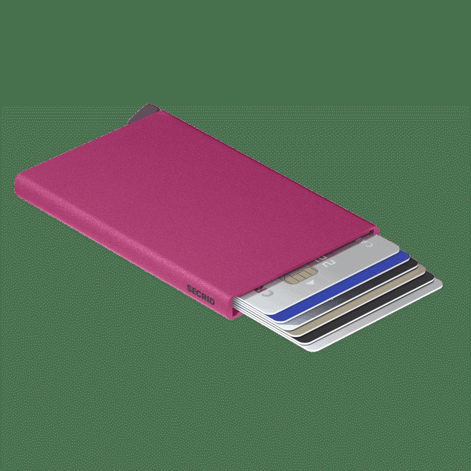 Secrid Cardprotector Powder Fuchsia Liggende