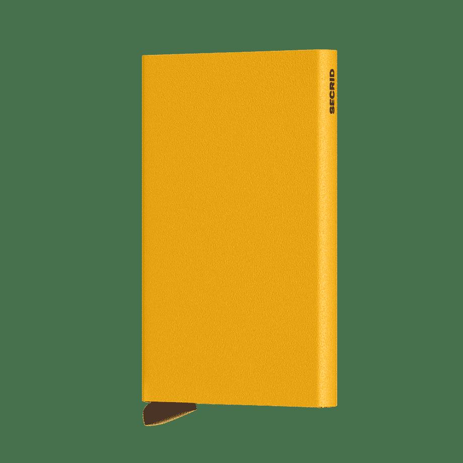 Secrid Cardprotector Powder Ochre Forside