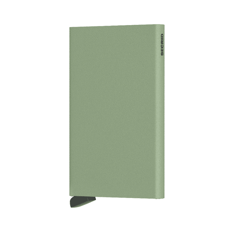 Secrid Cardprotector Powder Pistachio Forside