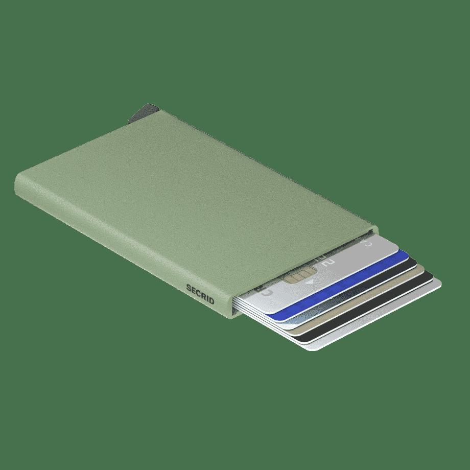 Secrid Cardprotector Powder Pistachio Liggende
