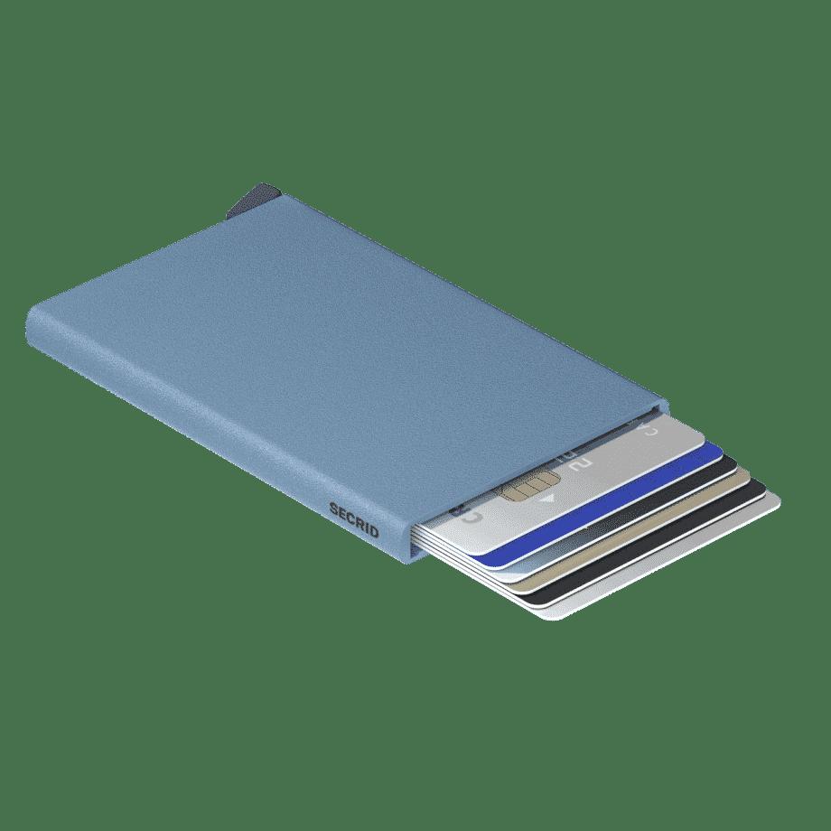 Secrid Cardprotector Powder Sky Blue Liggende