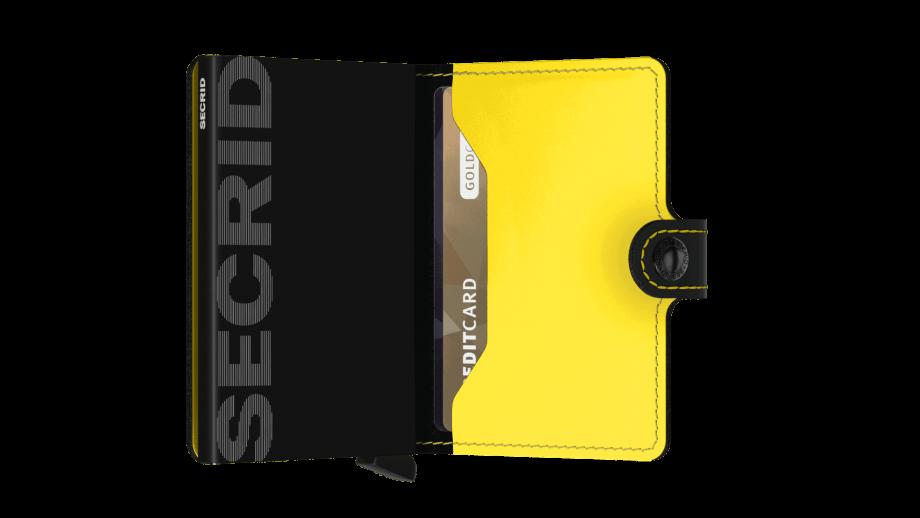 Secrid Cleo Ochre Open 1