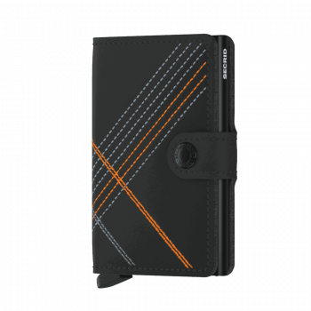 Secrid_Miniwallet_Stitch_Linea_Orange_Front