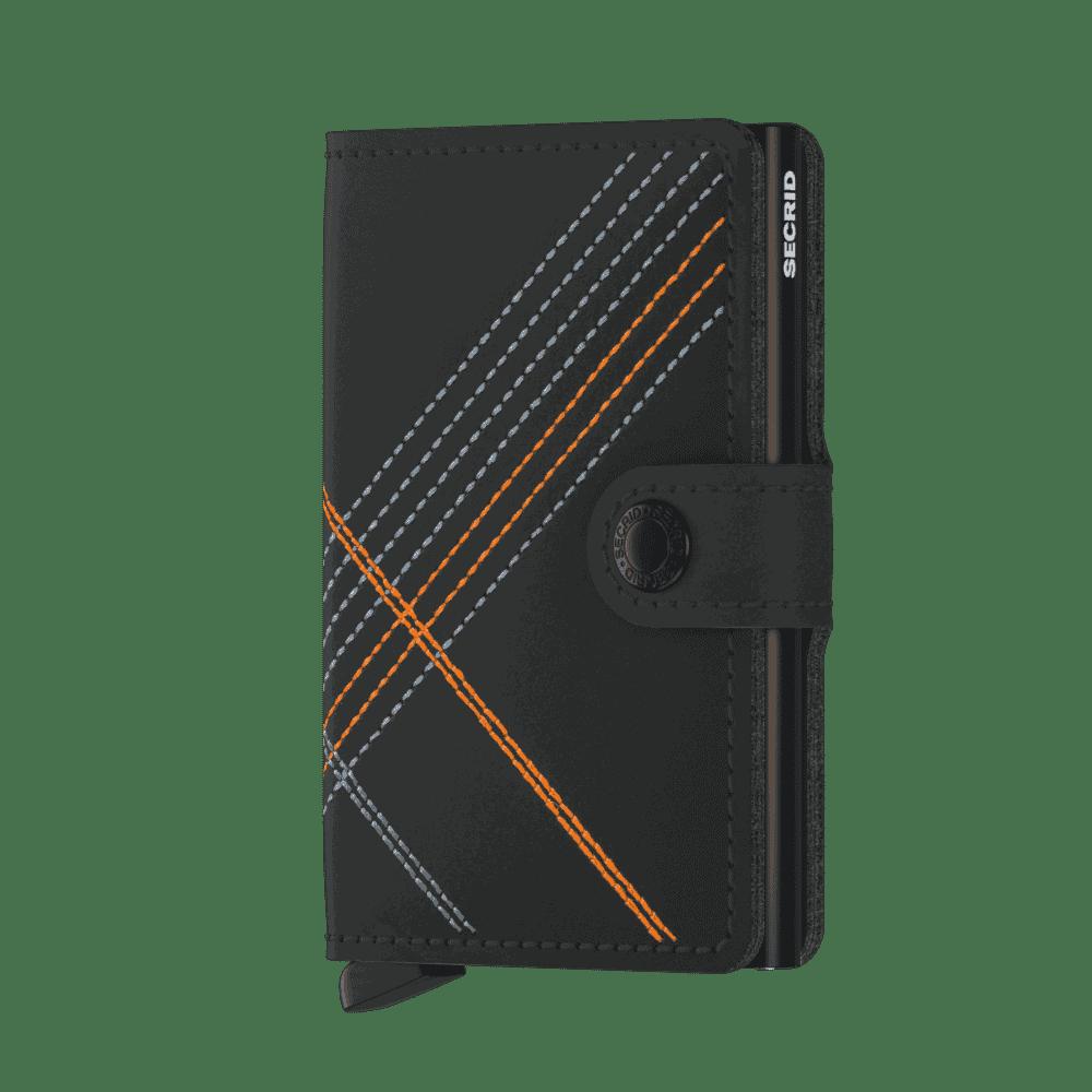 Secrid_Miniwallet_Stitch_Linea_Orange_Front