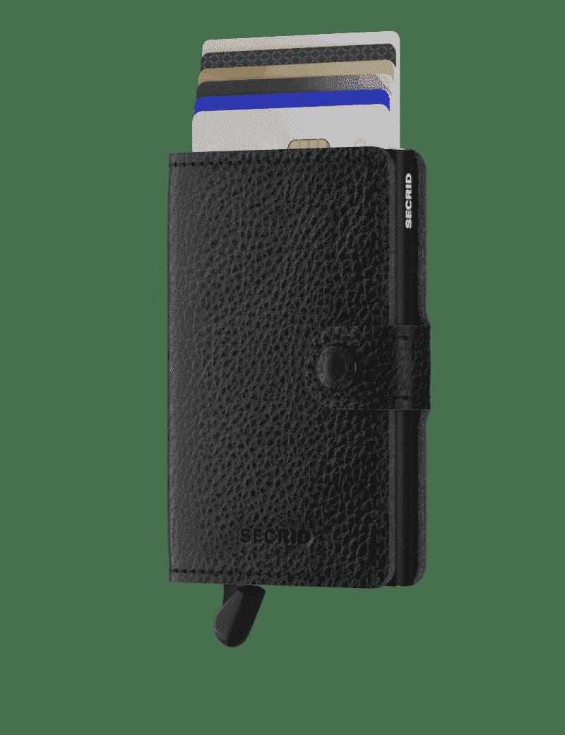 Secrid Miniwallet Veg Black Forside 2