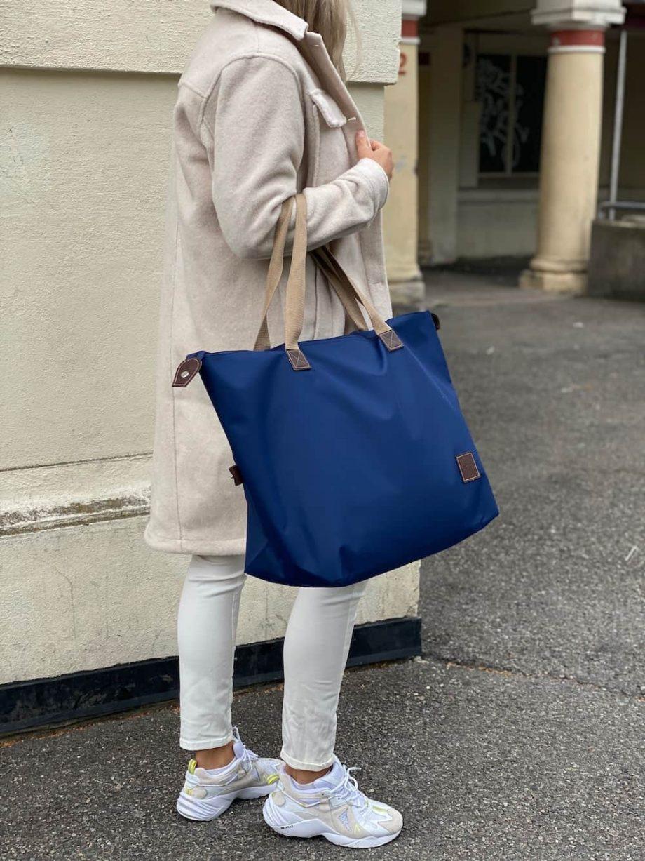 8000500-1 Tekstilbag-blå-Lycke