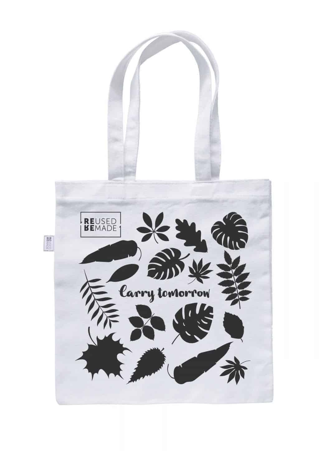 Tote Bag Mixed Leaves